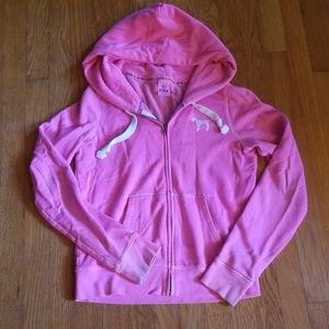 Pre-loved Pink zip hoodie